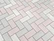 ブロック石畳