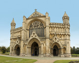 st albans cathedral hertfordshire england poster