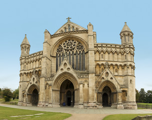 st albans cathedral hertfordshire england
