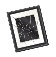 Broken Picture Frame (Domestic Abuse Concept)