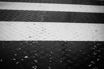 Streifen, schwarz-weiß