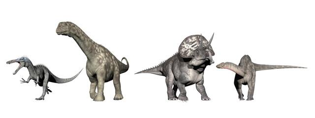 Dinosaurs - 3D render