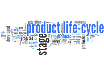 product life-cycle (english tag cloud)