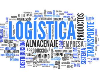 Logística (transporte, almacenaje, distribución; tag cloud)