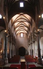 Navata centrale santa Maria Catena