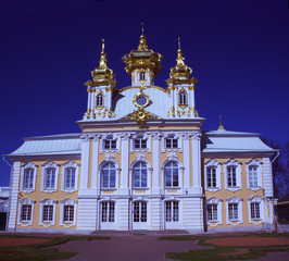 church in Peterhof, Tsarskoye Selo