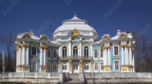 hermitage in Tsarskoye Selo near St. Petersburg