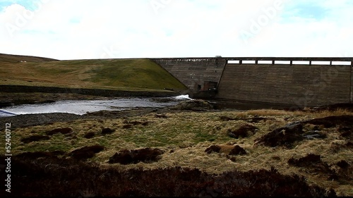cow green reservoir teesdale uk