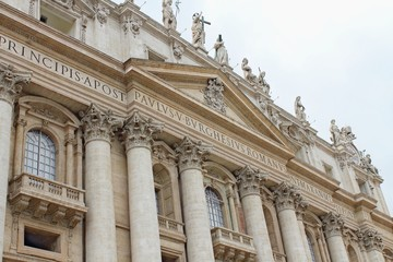 St..Peter's Basilica in the Vatican City