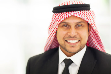 arabian corporate executive portrait