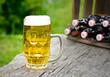 Bier im Garten