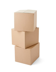 cardboard box package moving transportation delivery