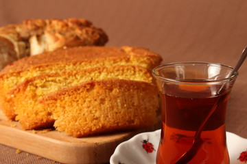 Corn Bread and Tea