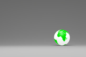 Green World Environment Concept