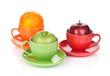 Apple and orange fruit tea