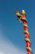Dragon on pole in