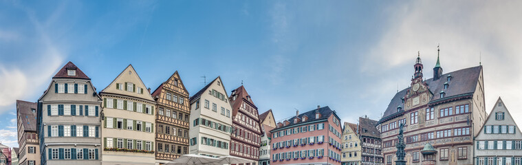 Market Square in Tubingen, Germany