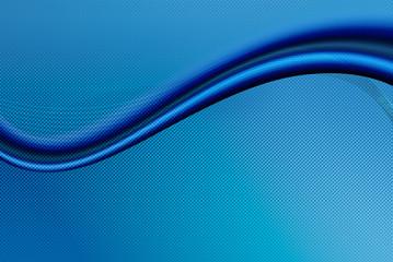 sfondo hi-tech onda azzurra tecnologica