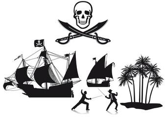 Piraten und Seeräuber