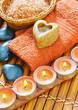 sea salt, soap and candles