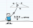 Geometry : calculating the area of ​​a triangle