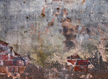 Stary dom ściana