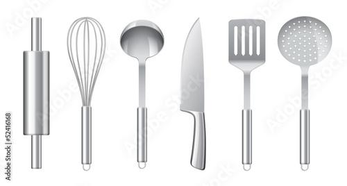 Ustensiles de cuisine vectoriels 2 - 52416168