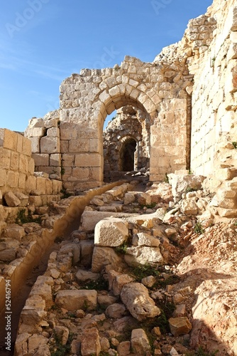 Inside Beaufort Crusader Castle, Lebanon