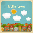 Little Town Color Houses