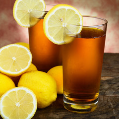 tè al limone - lemon tea