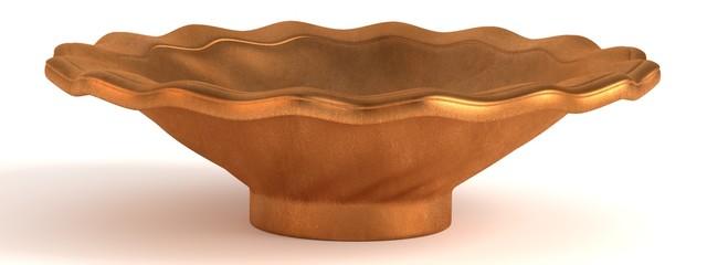 3d render of antique bowl