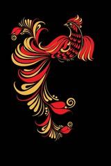 Hohloma bird