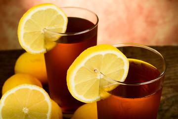tè al limone - lemon tea