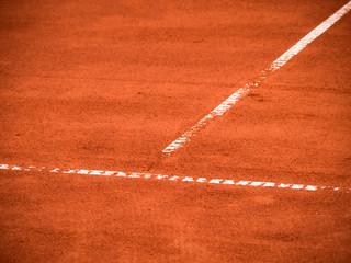 Tennis Platz Linien 113