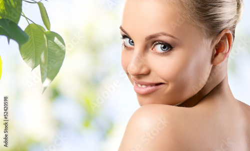 Fototapeten,gesicht,lächeln,portrait,modellieren