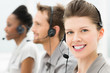 Happy Call Center Operators