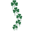 Graffiti Shamrocks Design