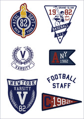 COLLEGE PATCH