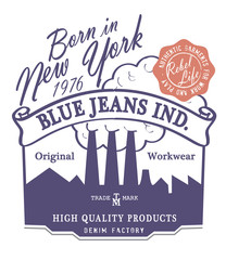 BLUE JEANS IND.