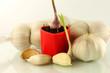 garlic display