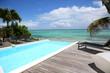 Beautiful swimming-pool next to the sea