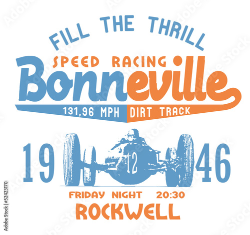 BONNEVILLE SPEED RACING
