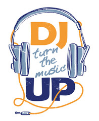 DJ turn the music UP