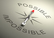 ������, ������: Possible VS Impossible