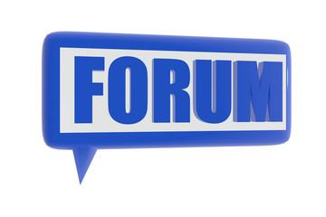 Forum symbol
