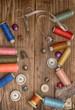 Постер, плакат: Инструменты мастера по ремонту одежды