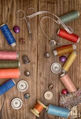 Инструменты мастера по ремонту одежды