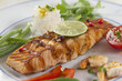 Pavé de saumon grillé & Garniture