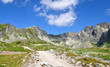 view of the High Tatras in summer, Slovakia