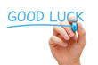 canvas print picture - Good Luck